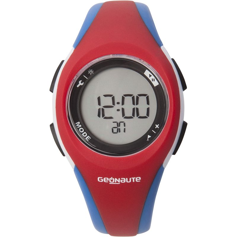2547d232b7dc Reloj deporte mujer junior W200 S temporizador azul y rojo - Decathlon