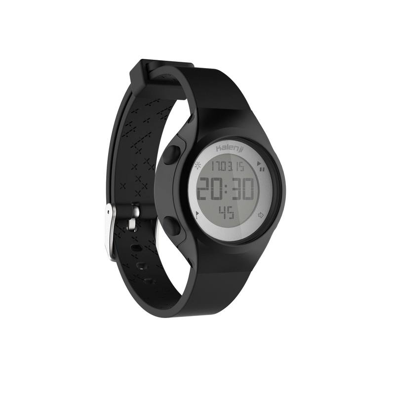 30c0c3cbf91c Reloj digital de deporte mujer y junior temporizador W500 S swip NEGRO ...