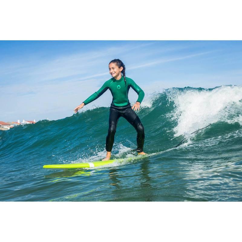 Traje SURF 100 Neopreno 4 3 mm Niños - Decathlon 2e46c23ea56