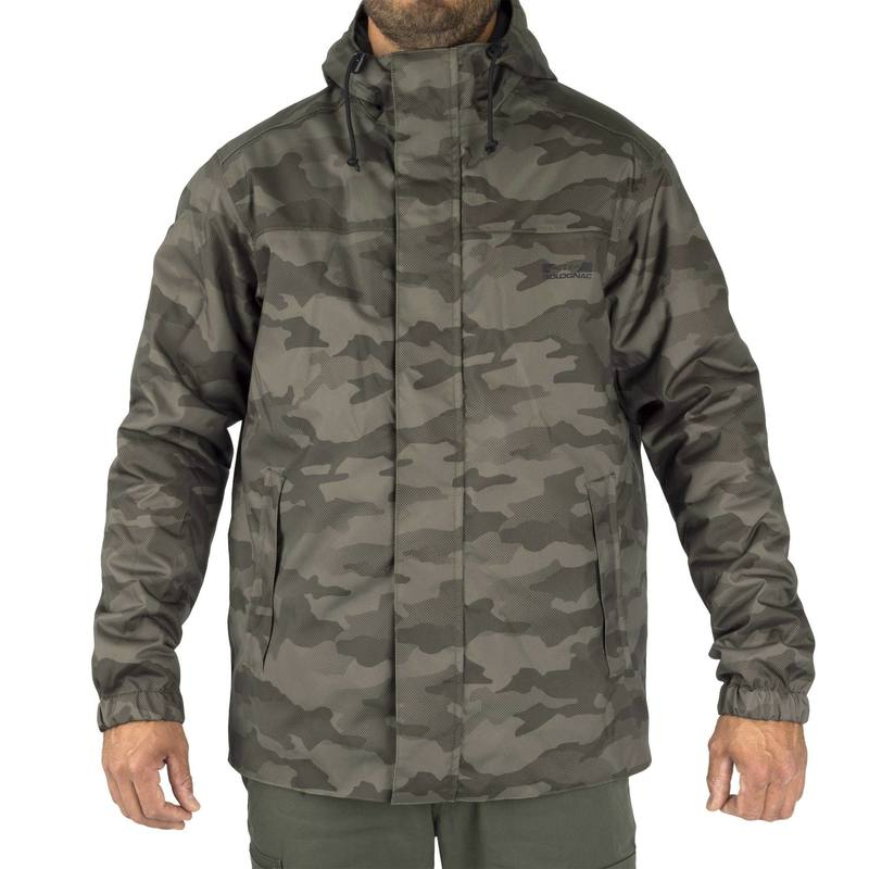 VESTE CHASSE SIBIR 100 CAMOUFLAGE HALFTONE - DECATHLON TUNISIE 5a42c67a7ee