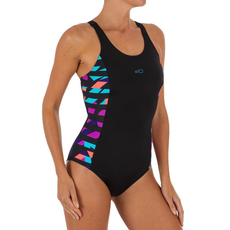 f933b99c8ae8 Bañador de natación una pieza mujer Vega Typ negro