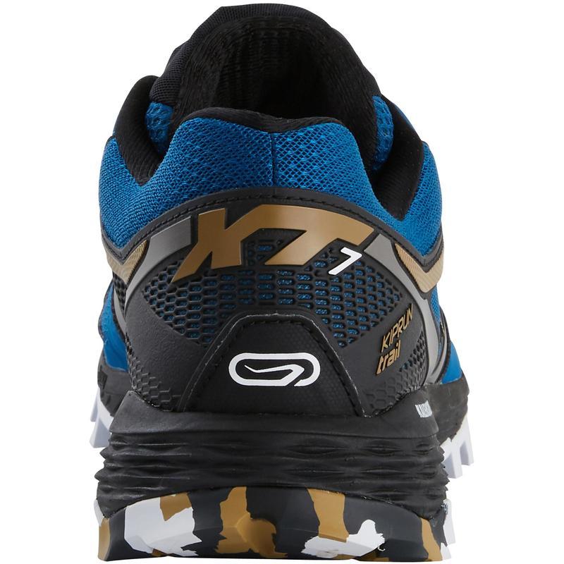 64cb5023cdb Chaussure de trail homme XT7 bleue et bronze - DECATHLON TUNISIE