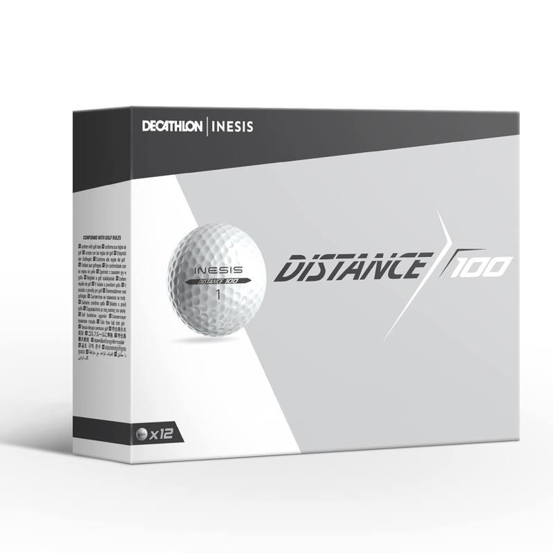2ba42ca0f Bolas de golf 100 blancas (en lotes de 12) - Decathlon