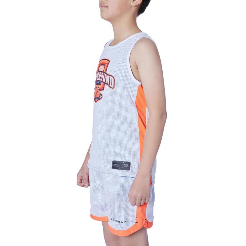 5ad820297 ... T500R Boys  Girls  Intermediate Basketball Reversible Jersey - Blue White  ...