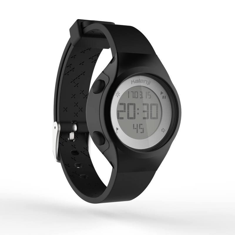 d039a021905c ... Reloj digital de deporte mujer y junior temporizador W500 S swip NEGRO  ...