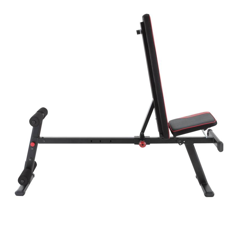 500 Fold Down Incline Weight Bench Decathlon