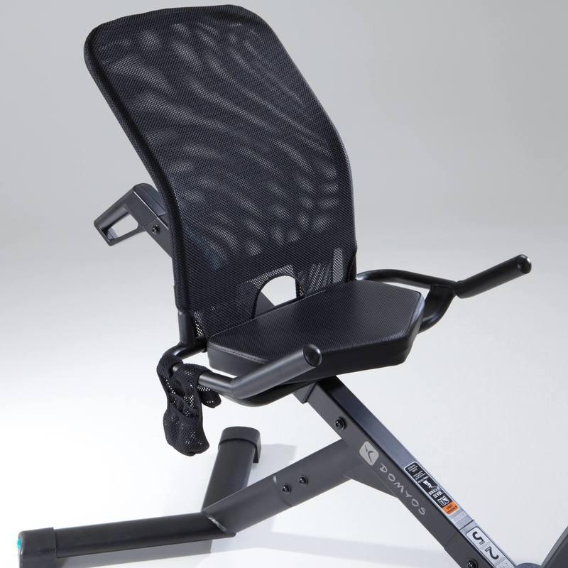 e seat exercise bike decathlon. Black Bedroom Furniture Sets. Home Design Ideas