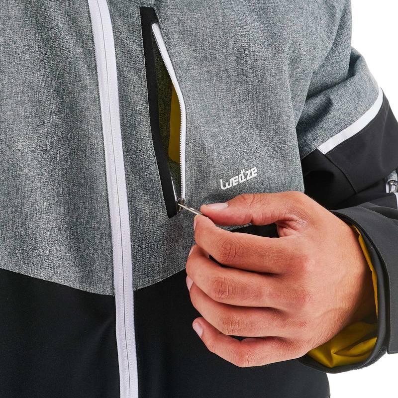 35b2705d71 AM580 Mens All Mountain Skiing Jacket - Black . cheap prices cab5d 60db2 03  - Ski Women - Ski-P 500 W Warm Jkt ...