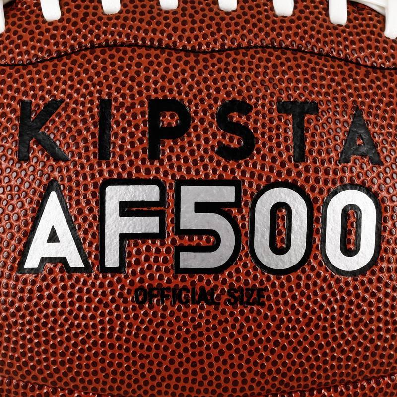 52d10953c73ba Balón de fútbol americano AF500 de talla oficial marrón - Decathlon