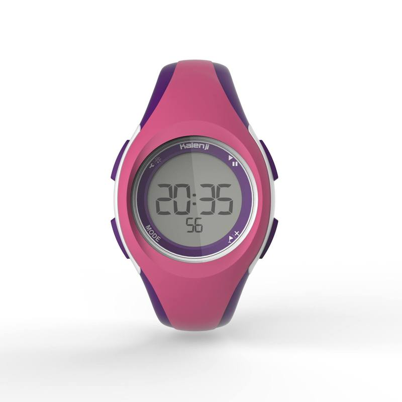 nueva llegada 772c3 baec1 Reloj sport dama y junior W200 S temporizador rosa y morado
