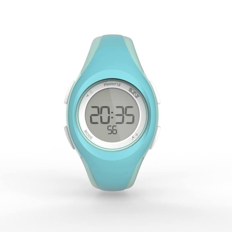 acdbcdf752da ... Reloj digital deportivo mujer y junior W200 S temporizador verde pastel  ...