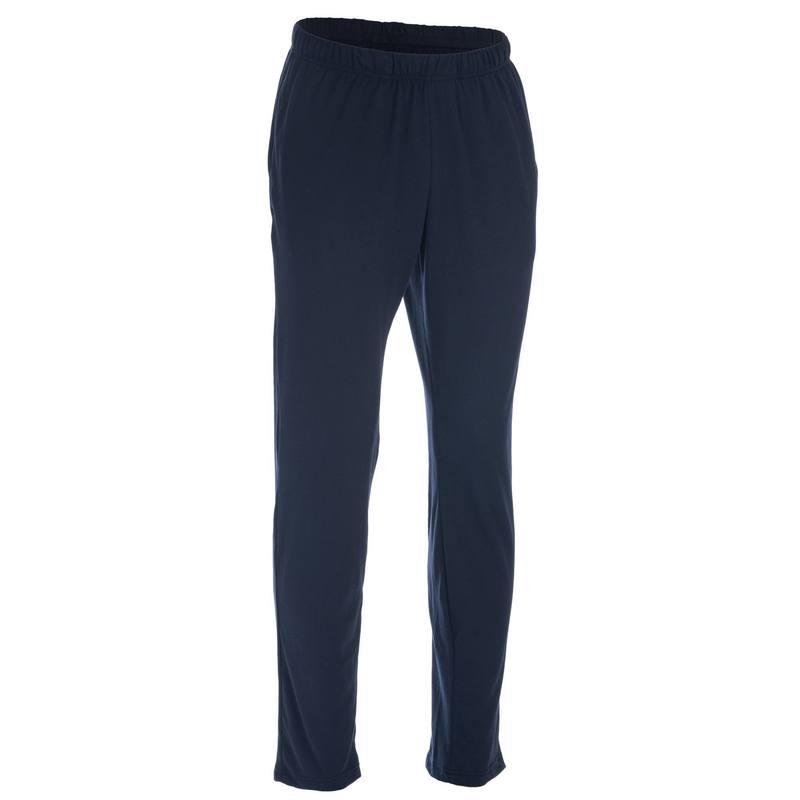 Pantalon 100 regular Pilates Gym douce homme bleu marine - DECATHLON ... 64a11f6ba77